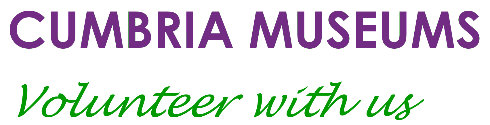 Cumbria Museums: Volunteer Makers Logo